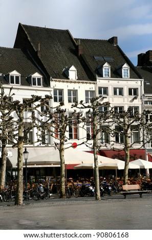 Center Maastricht, The Netherlands - stock photo