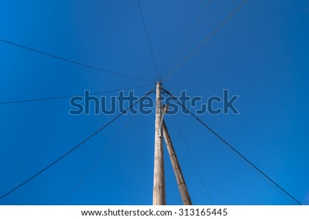 Central hub concept for big data connection server - stock photo
