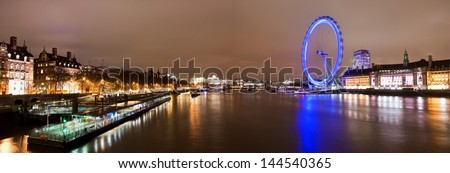Central London - stock photo