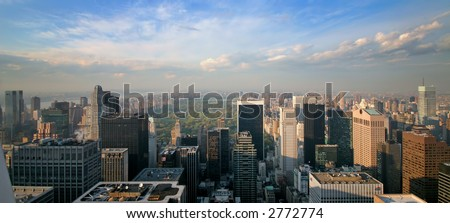 Central Park - Manhattan - New York - USA - stock photo