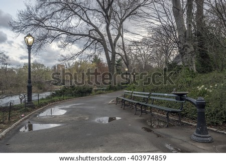 Central Park, New York City - stock photo
