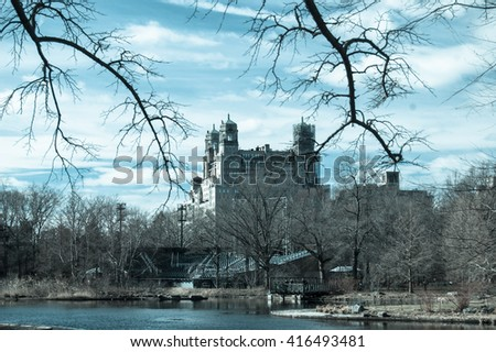 Central Park - New York, USA - stock photo
