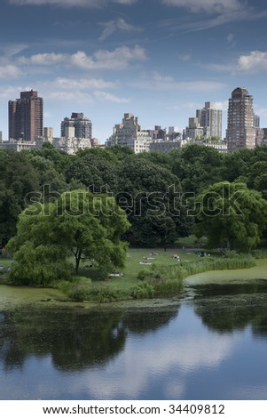 Central Park NYC - stock photo