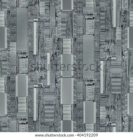 Central Processing Unit Architecture Background - stock photo