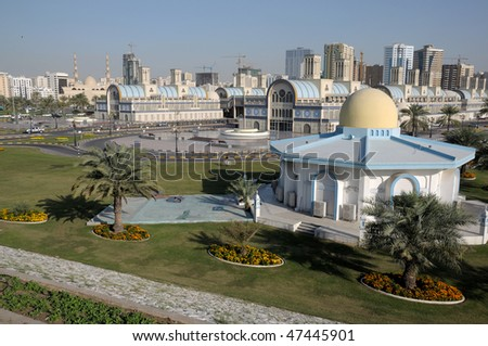Central Souq (market) in Sharjah City, United Arab Emirates