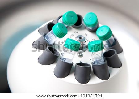 Centrifuge - stock photo
