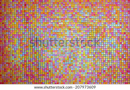 ceramic floor tiles closeup texture - stock photo