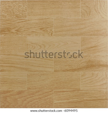 Ceramic tile with wood texture - stock photo