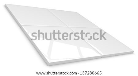 Ceramic tiles - stock photo