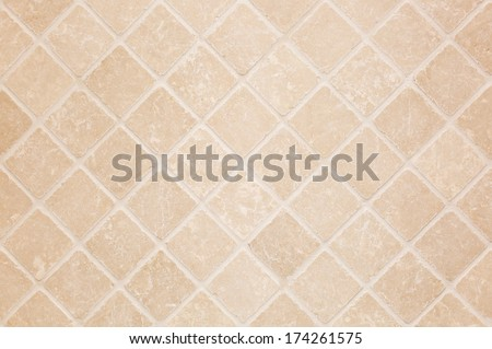 Ceramic tiles are commonly used in classic and modern interiors and exteriors. - stock photo