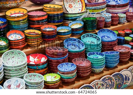 Ceramics - stock photo