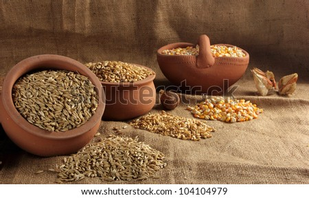 Cereal - stock photo
