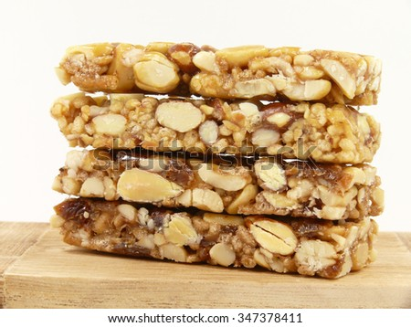 cereal bars - stock photo