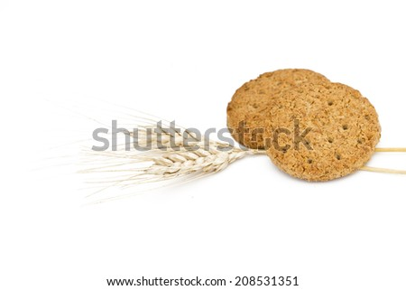 Cereal biscuits - stock photo