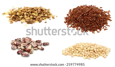 Cereal Grains and Seeds  - stock photo