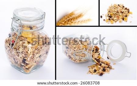 Cereals breakfast - stock photo