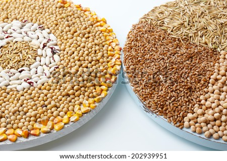 Cereals close up