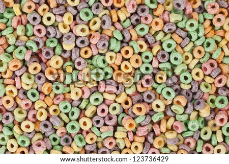 cereals in a background image - stock photo