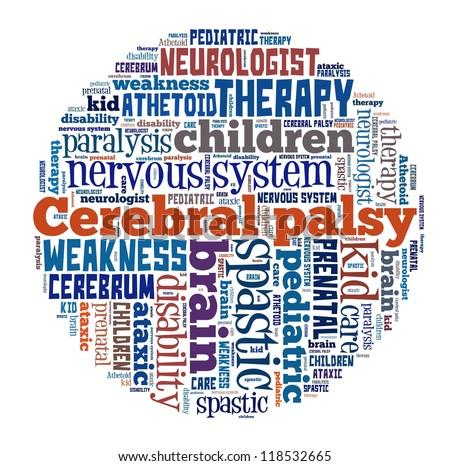 Cerebral palsy children walking