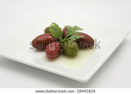 Cerignola Olives - stock photo