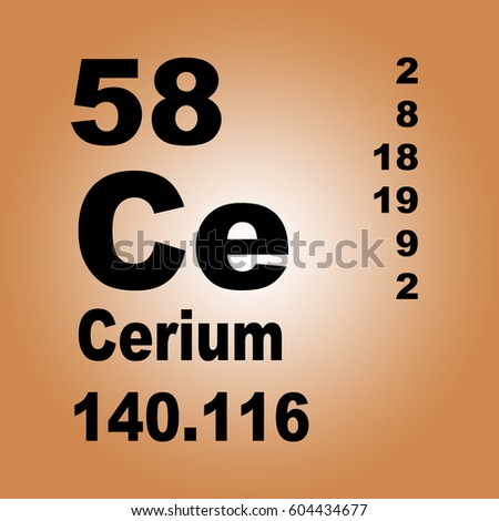 Cerium periodic table elements stock illustration 604434677 cerium periodic table of elements urtaz Image collections