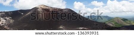 Cerro Negro Volcano / Nicaragua - stock photo