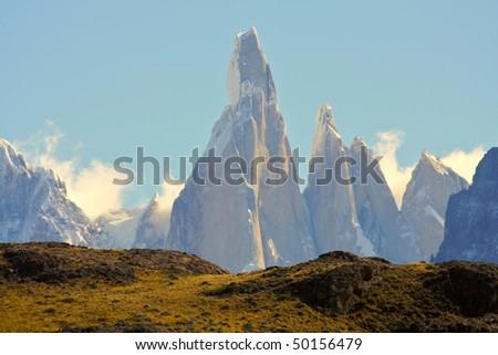 Cerro Torre, Argentina - stock photo