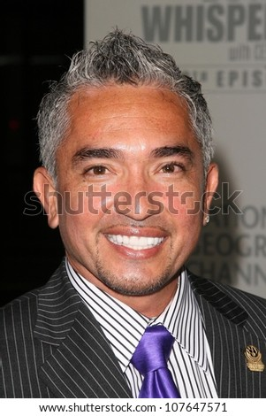 Cesar Millan  at the party to celebrate the 100th Episode of 'Dog Whisperer'. Boulevard 3, Hollywood, CA. 09-17-08 - stock photo