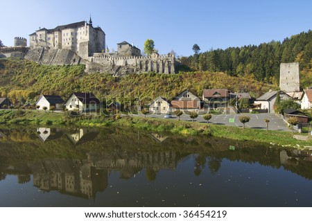 Cesky Sternberk castle in Czech republic