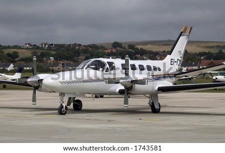 Cessna 441 Conquest - stock photo