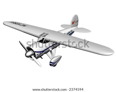 Cessna plane - stock photo