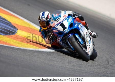 CEV - Spanish Velocity Championship - Cheste - Valencia - stock photo