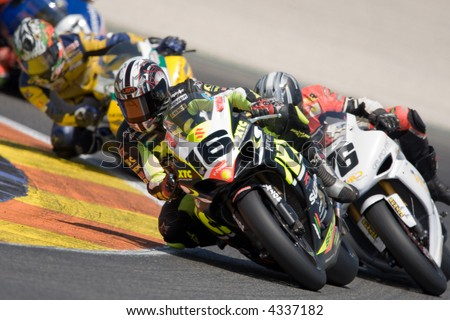 CEV - Spanish Velocity Championship - Cheste - Valencia - stock photo