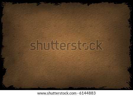CG Grungy Textured Background in a warm bronze color. - stock photo