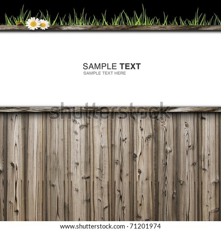 CG synthesis background image of wooden - stock photo
