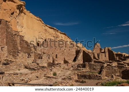 Chaco Culture National Historical Park is a United States National Historical Park and it is a portion of a UNESCO World Heritage Site