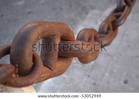 Chain - stock photo