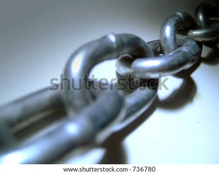 Chain Links - stock photo