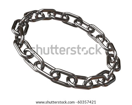 Chain ring - stock photo