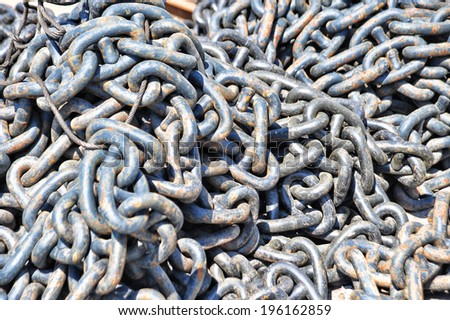 chains - stock photo