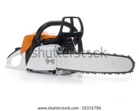 Chainsaw - stock photo
