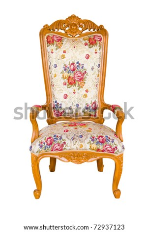 Chair classic - stock photo