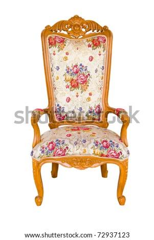 Chair classic - stock photo