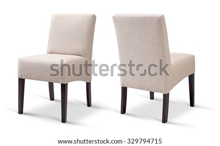 Chair; Dining chair - stock photo