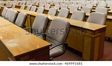 chair In meeting room
