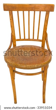 Chair on a white background.