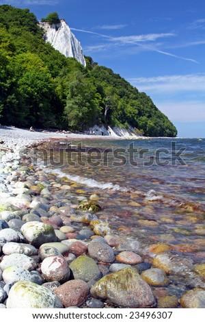 Chalk Coast, Island Ruegen, Germany - stock photo