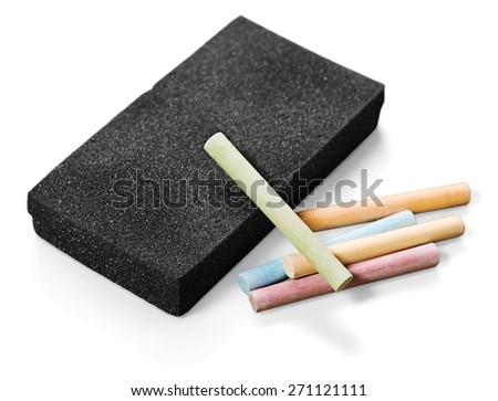 chalk eraser board eraser stock photo edit now 271121111