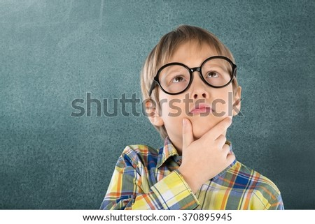 Chalkboard. - stock photo