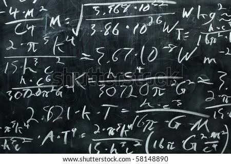 Chalkboard - stock photo